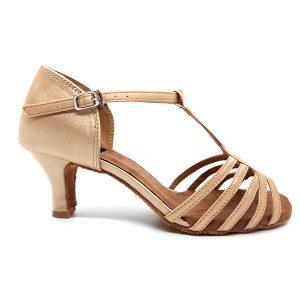 Zapato de baile mara tacón bajo