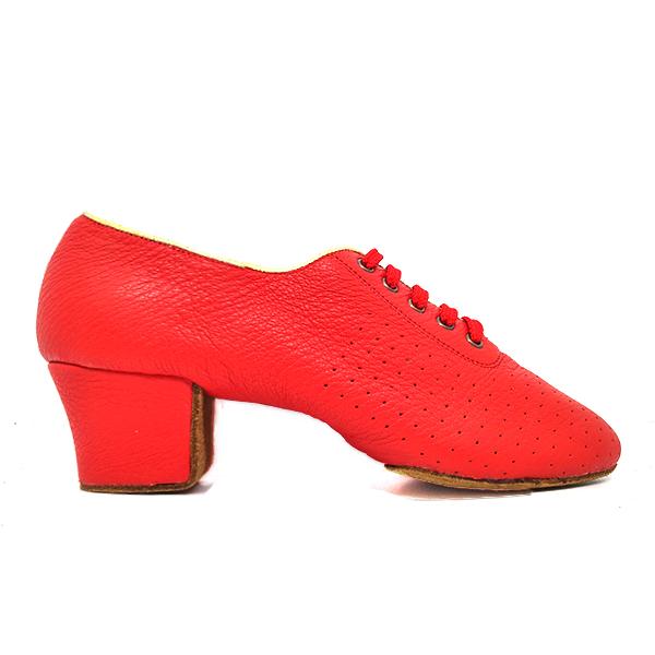 zapatos para entrenar rojos