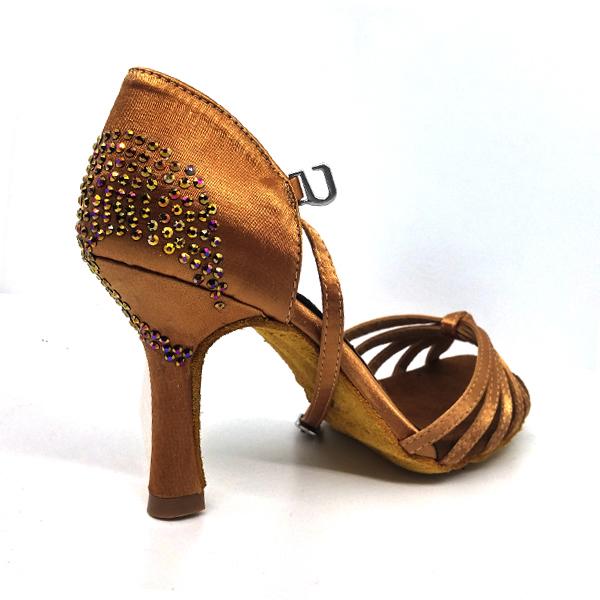 Zapatos para bailar con brillantes