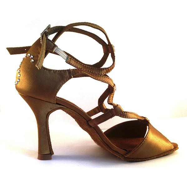 Zapatos de baile camel