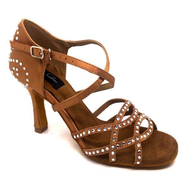 Zapato de baile color carne