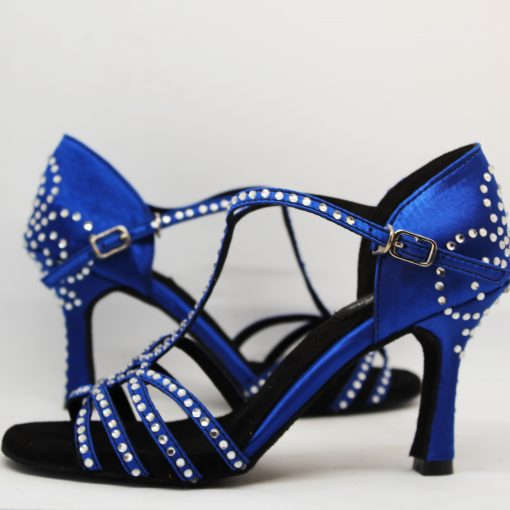 Zapatos de baile azul