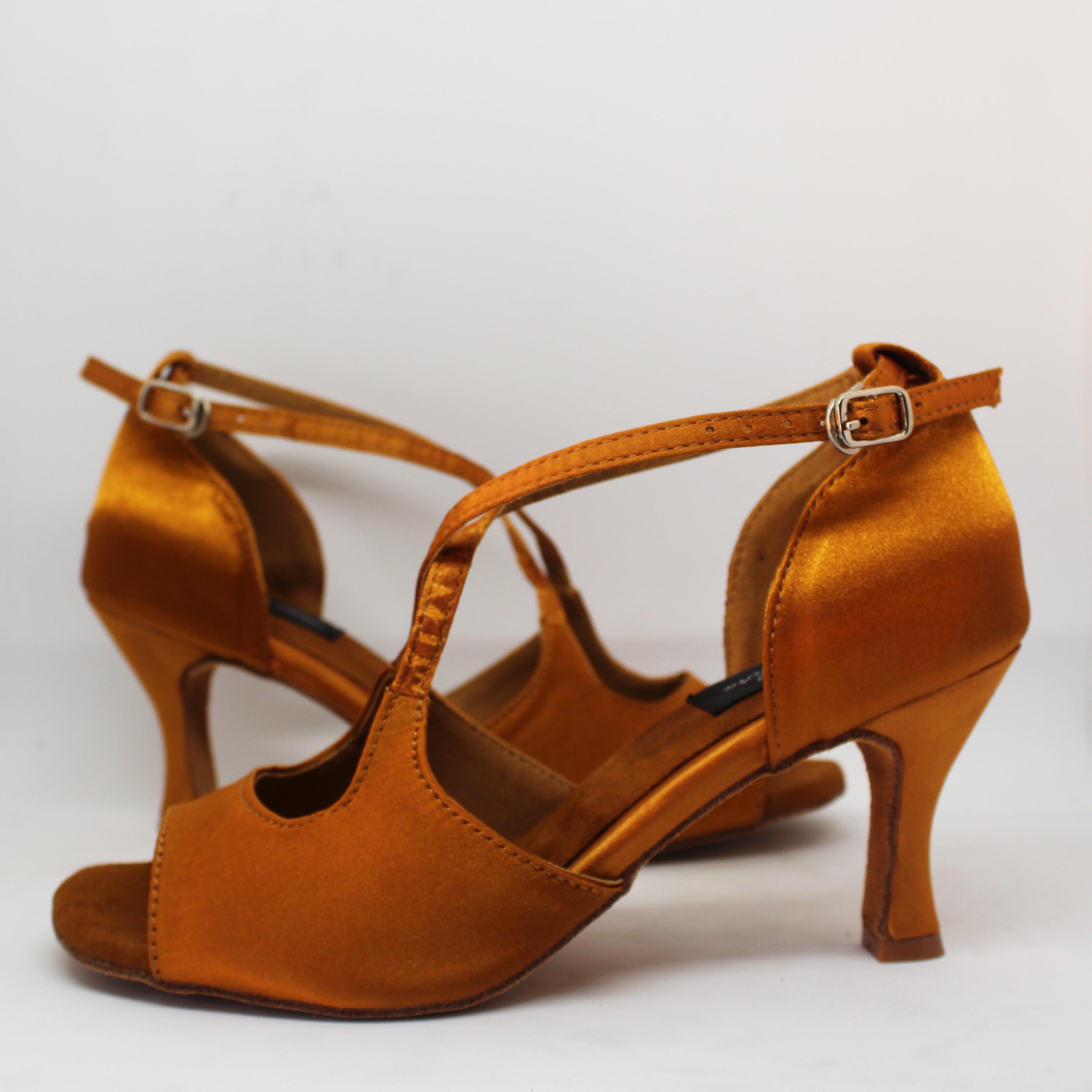 disponibilidad en el reino unido 229bf f8a27 Basic 141 Zapatos Baile Latino Básicos Camel