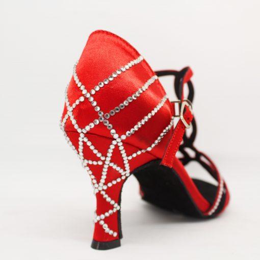 zapatos de baile rojos